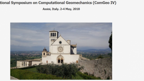 International Symposium on Computational Geomechanics (ComGeo IV), Assisi (Italy), May 2-4th, 2018.