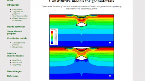 SoilModels : Hub for Geotechnical Professionals