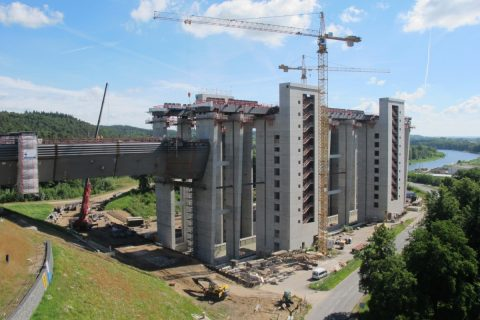 Calculation of coordinates of climbing formwork using hypoplasticity and pressuremter tests
