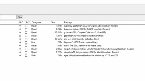 Compile triax calibration software under windows