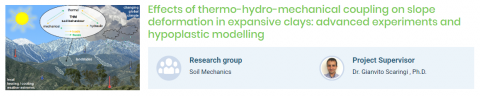 PhD position on thermo-hydro-mechanical coupling in slope stability (Charles University)